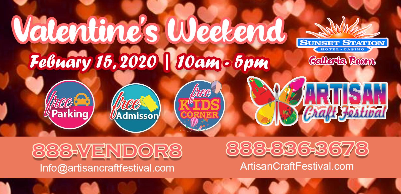 Valentine's Weekend Artisan Craft Festival