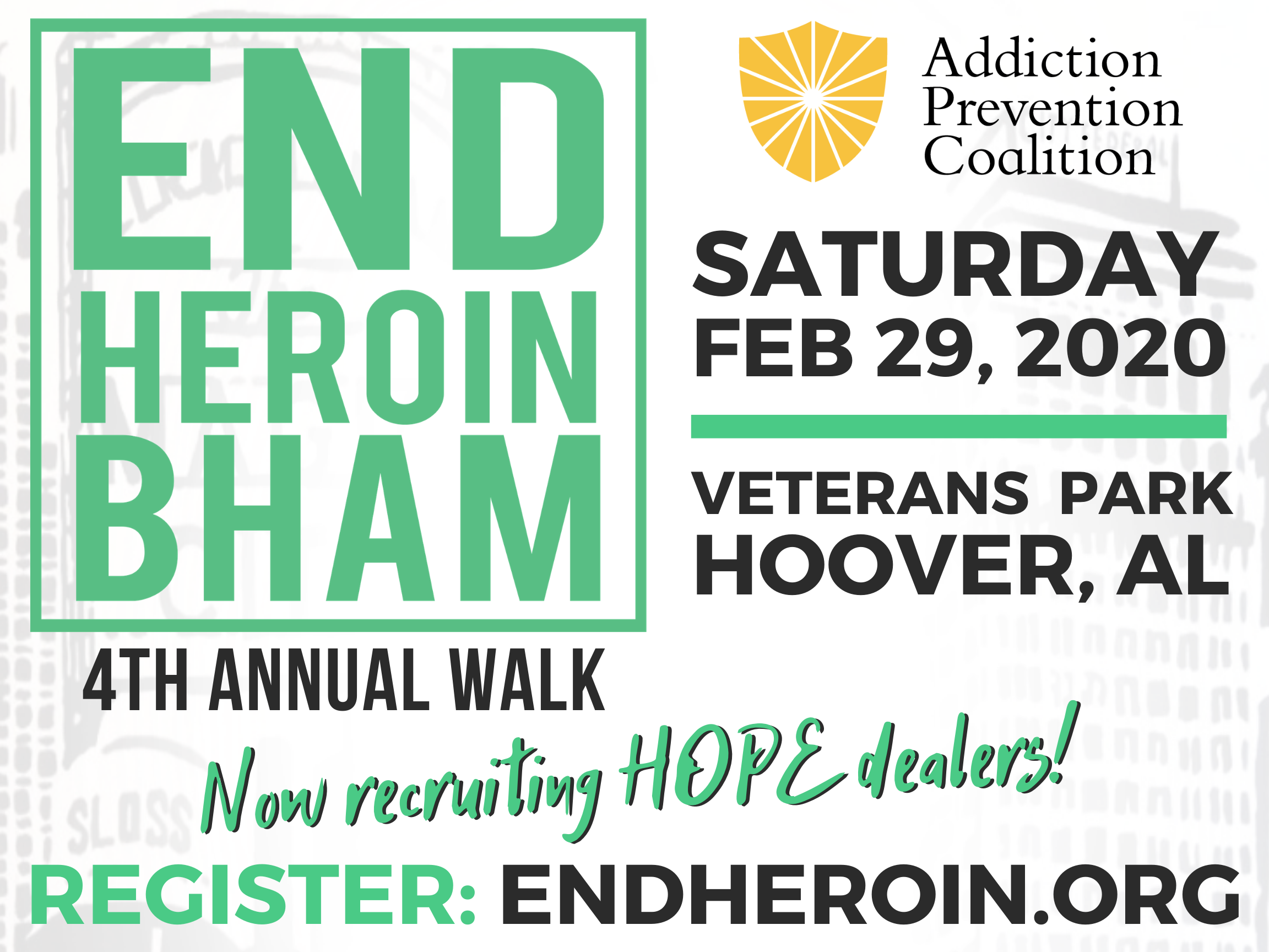 End Heroin BHAM Walk 2020